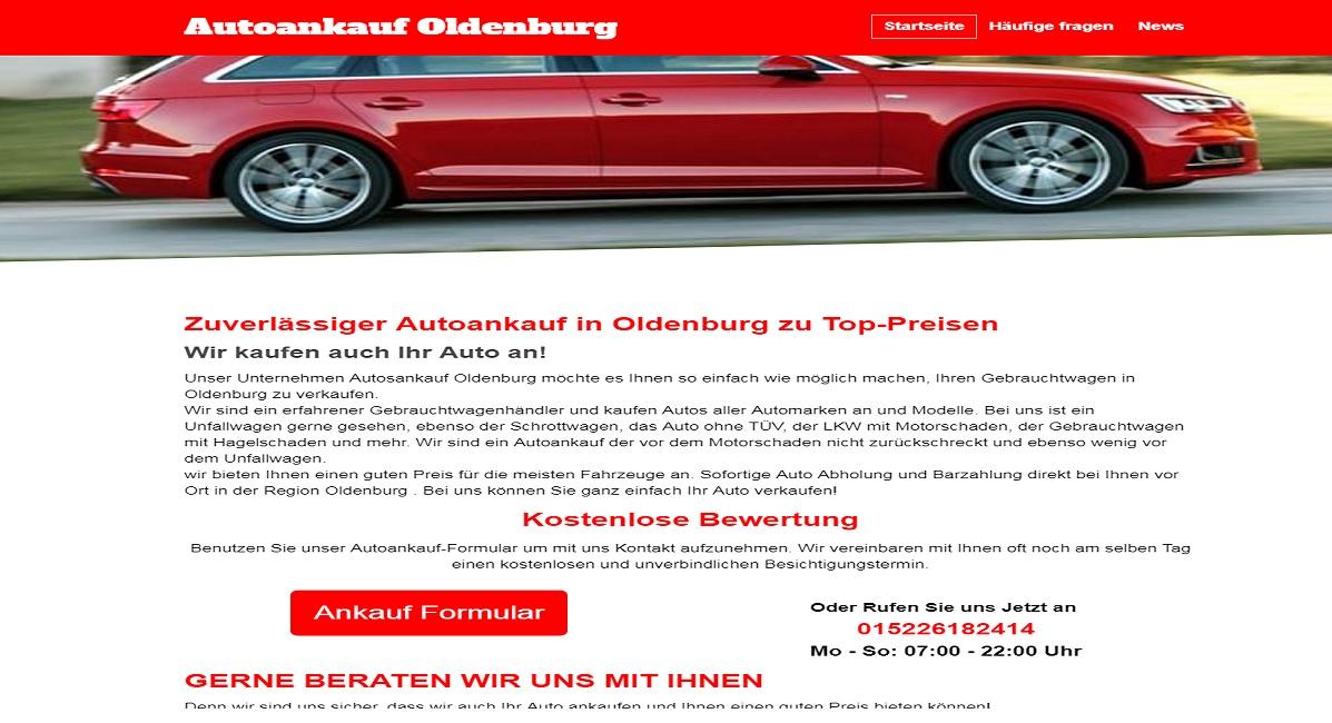 Autoankauf Oldenburg