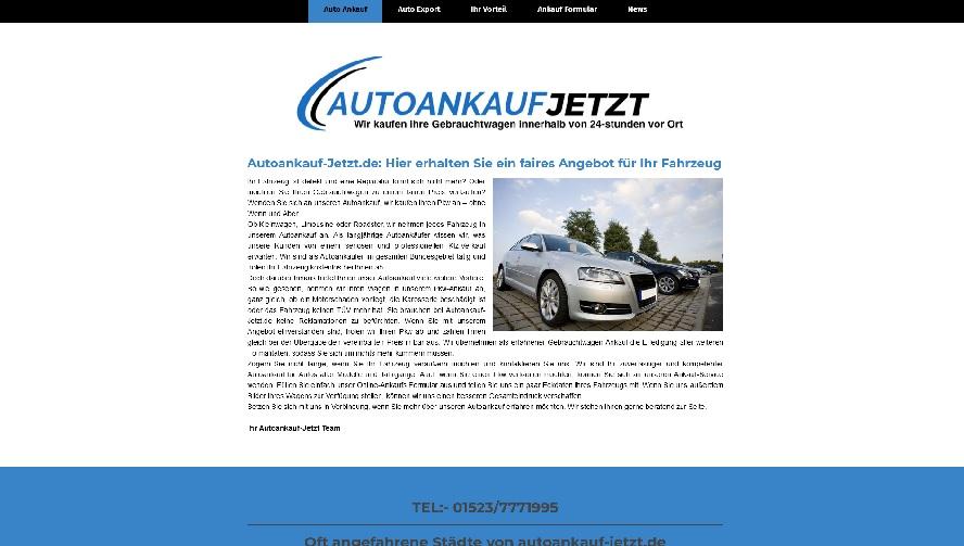 Autoankauf Oberhausen