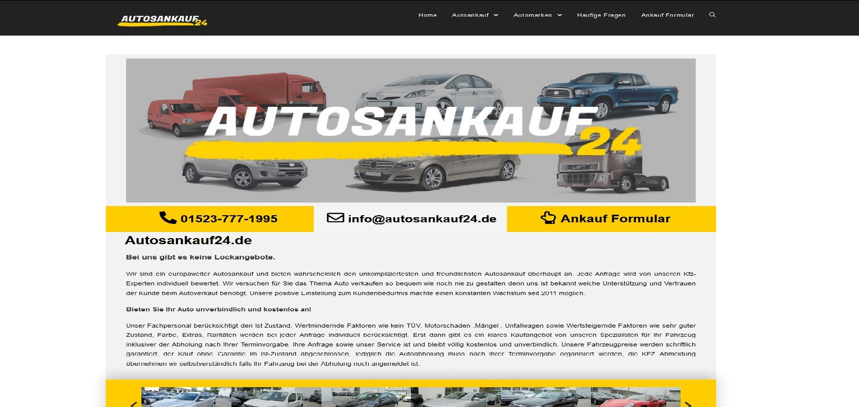 autosankauf24.de Autoankauf Stuttgart
